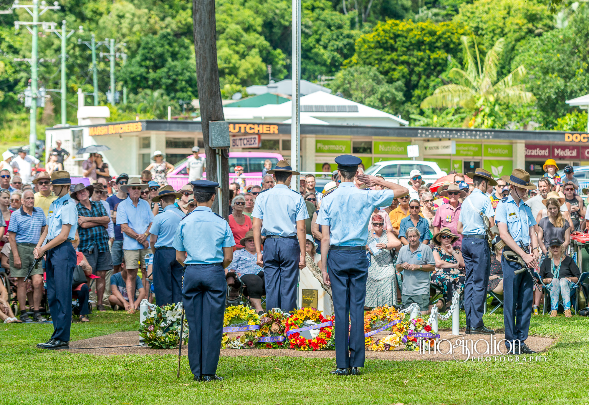 Anzac Day 2019 in Cairns and Stratford | Imagination Photography